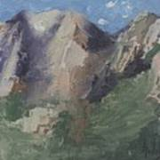 Chimney Rock Art Print