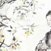 China Ancient Female Art Print