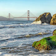 China Beach To The Golden Gate Art Print