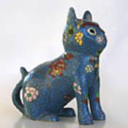China Cat Art Print
