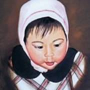 China Doll Art Print