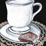 China Tea Cup Art Print
