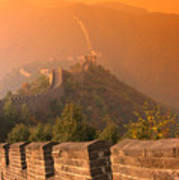 China, The Great Wall Art Print