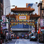 Chinatown - Philadelphia Art Print by Bill Cannon