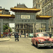 Chinatown Chevy  Art Print