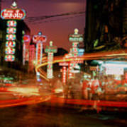 Chinatown In Bangkok Art Print