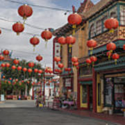 Chinatown Los Angeles 1 Art Print