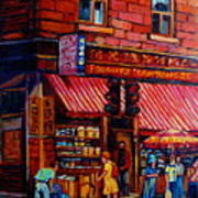 Chinatown Montreal Art Print