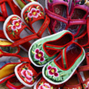 Chinese Baby Shoes Art Print