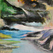 Chinese Landscape 1 Art Print