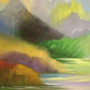 Chinese Landscape 2 Art Print
