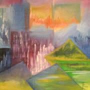 Chinese Landscape 3 Art Print