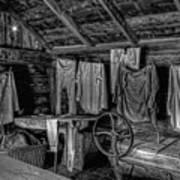 Chinese Laundry In Montana Territory Art Print by Daniel Hagerman