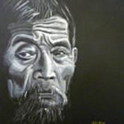 Chinese Man Art Print