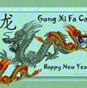Chinese New Year - Number Nineteen Art Print
