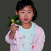 Chinese Orphan Girl Art Print