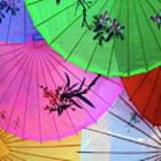 Chinese Parasols Art Print