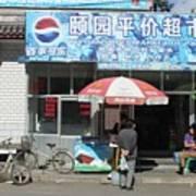 Chinese Storefront Art Print