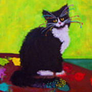 Ching - The Studio Cat Art Print