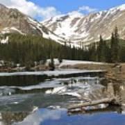 Chinns Lake Reflections 3 Art Print