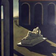 Chirico: Melancolie, 1914 Art Print