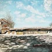 Chisholms Mill Art Print