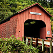 Chitwood Covered Bridge Art Print