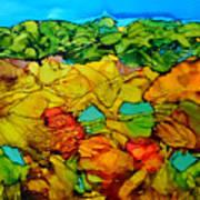 Chocolate Hills Pilippines Art Print