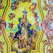Choir Ceiling Art Print