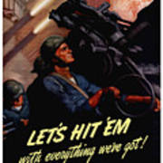 Choose The Navy -- Ww2 Art Print