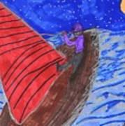 Choppy Waters Art Print