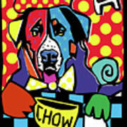 'chow' Art Print