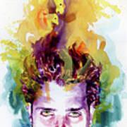 Chris Cornell 2 Art Print