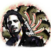 Chris Cornell Art Print