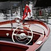 Chris Craft Sportsman Art Print