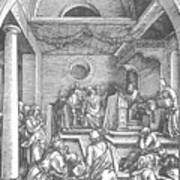 Christ Among The Doctors In The Temple 1503 Art Print