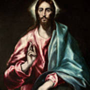 Christ As Saviour Art Print