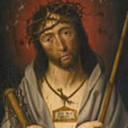 Christ As The Man Of Sorrows Art Print