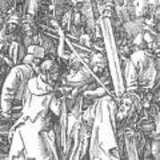 Christ Bearing The Cross 1509 Art Print