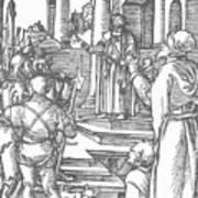Christ Before Pilate 1511 Art Print