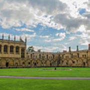 Christ Church Tom Quad Art Print