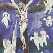 Christ Crucifixion Art Print