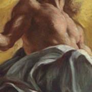 Christ In Glory  Detail Art Print