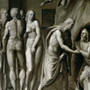 Christ In Limbo Art Print
