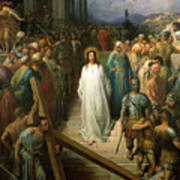 Christ Leaves His Trial Art Print by Gustave Dore