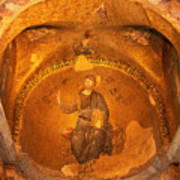 Christ Mosaic Art Print