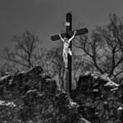 Christ On The Cross 002 Art Print