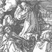 Christ On The Mount Of Olives 1511 Art Print