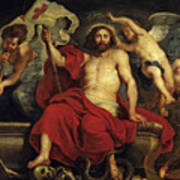 Christ Triumphant Over Sin And Death Art Print