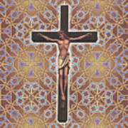 Christ Variations #1 Art Print